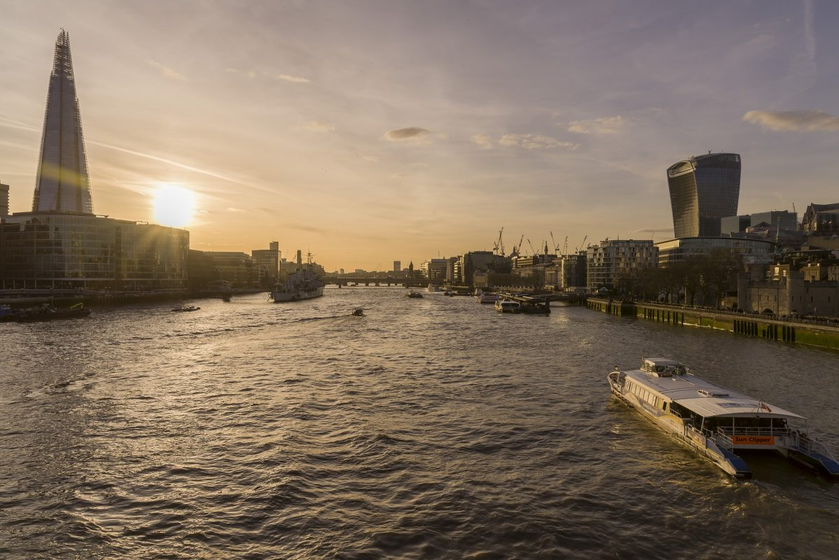 Go Boating On The River Thames