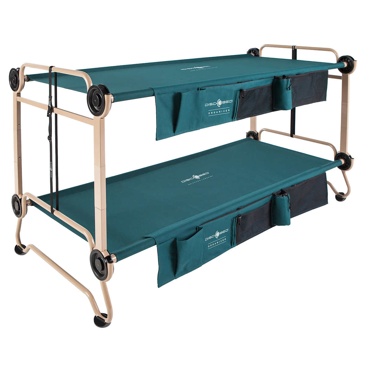 Disc-O-Bed Queen Size Camping Cot.