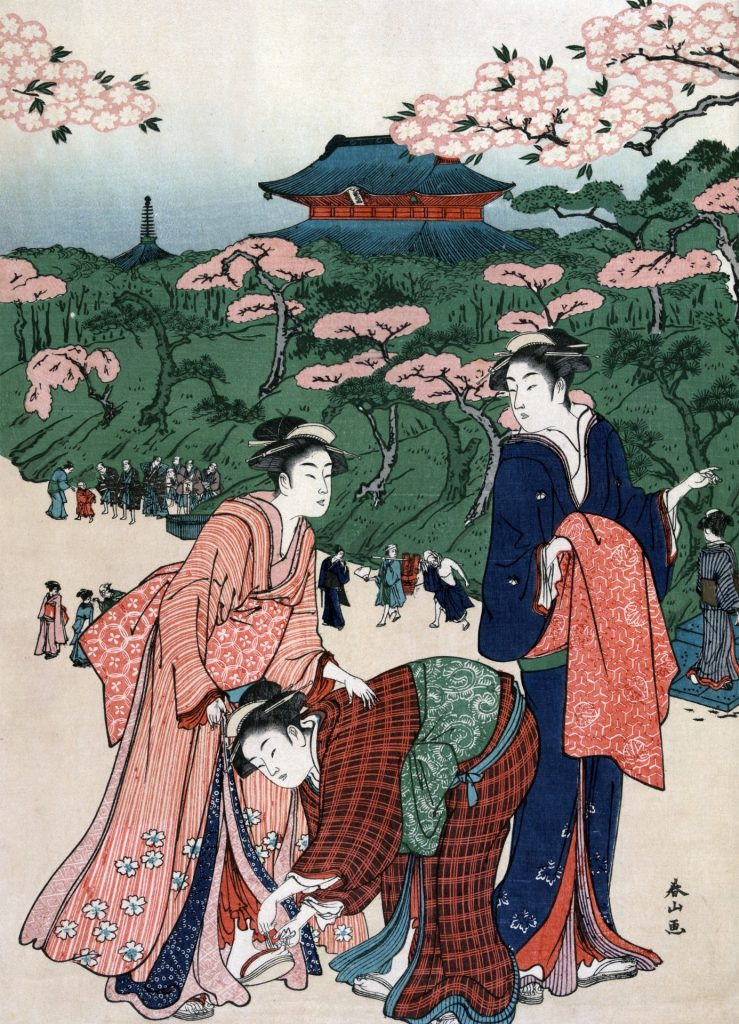 Japanese kimono, traditional