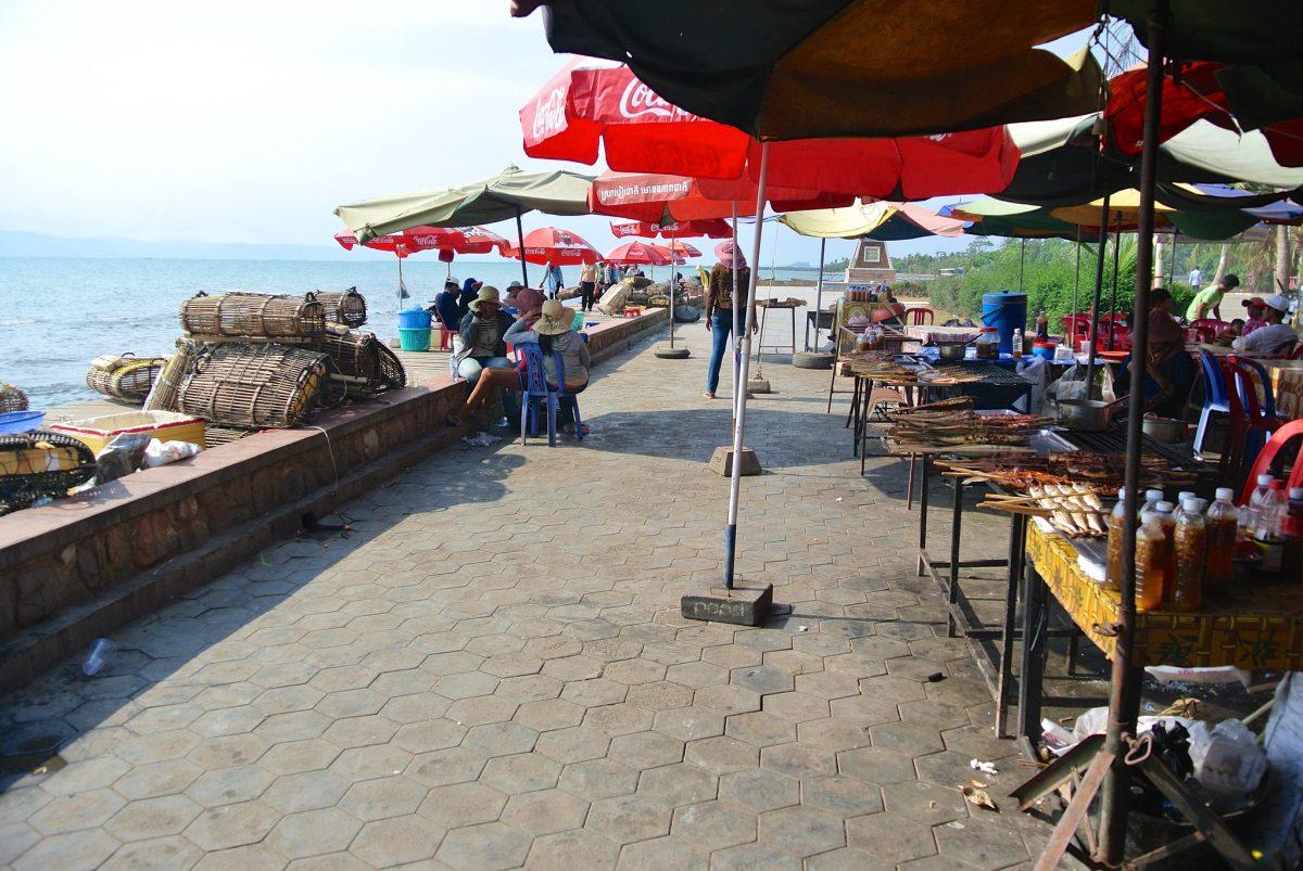 Kep Crab Market, Kep