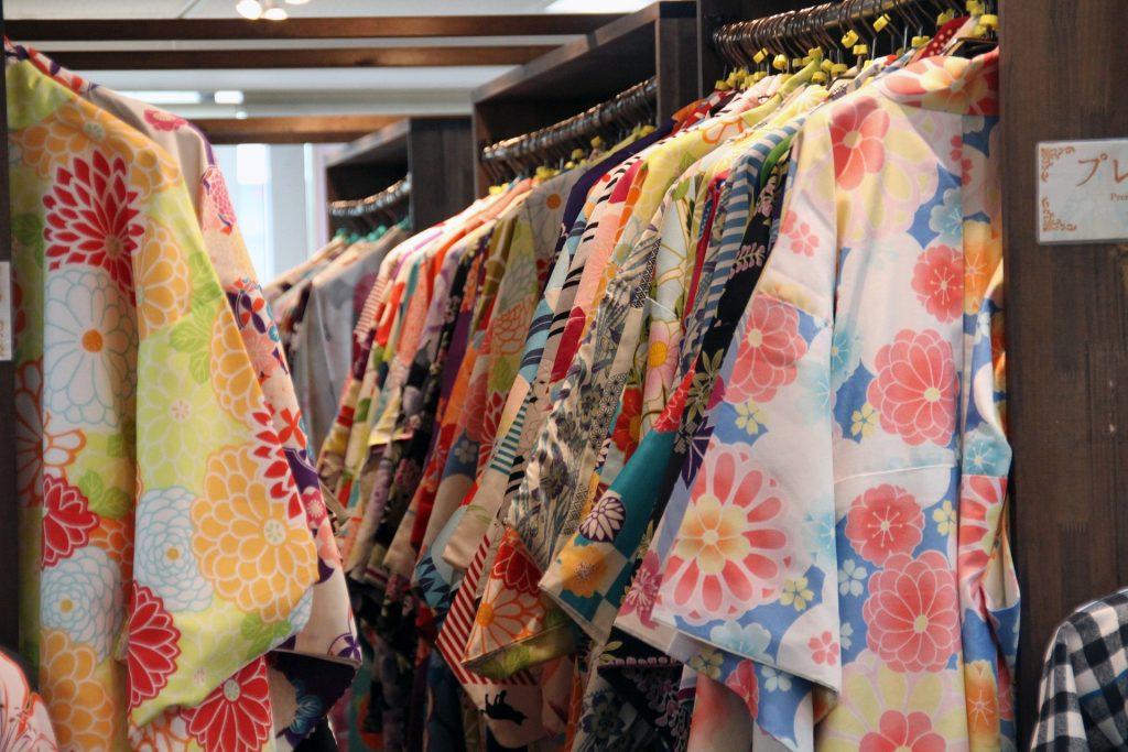 Kimono, Japan, colorful