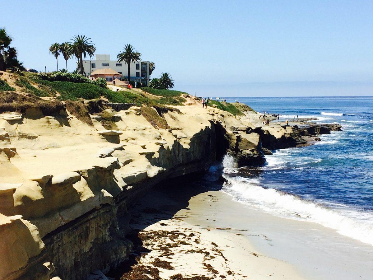 La Jolla Cove in San Diego