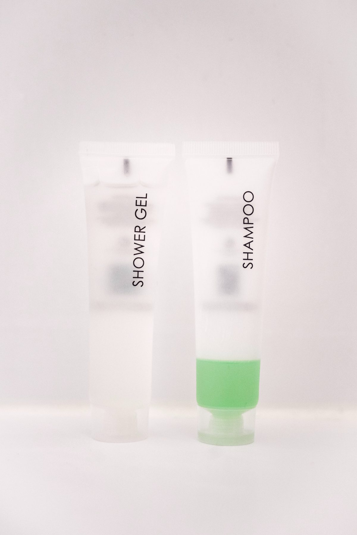 Travel toiletries in small packages