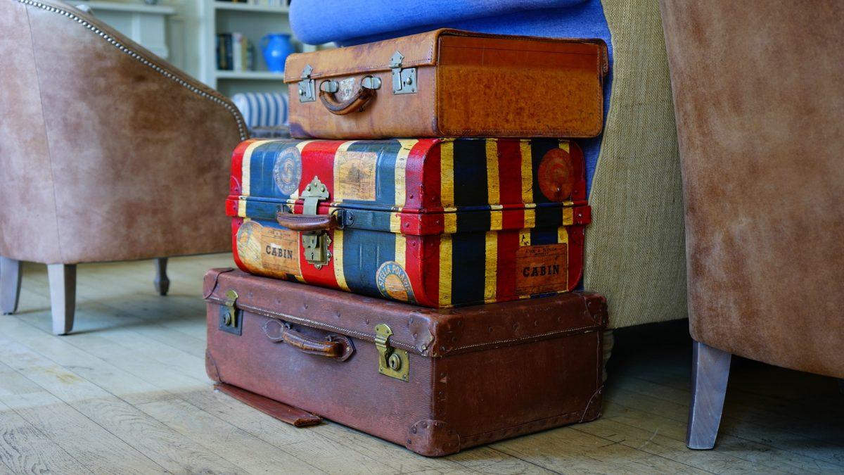 Suitcases, Luggage, Manhattan Trip