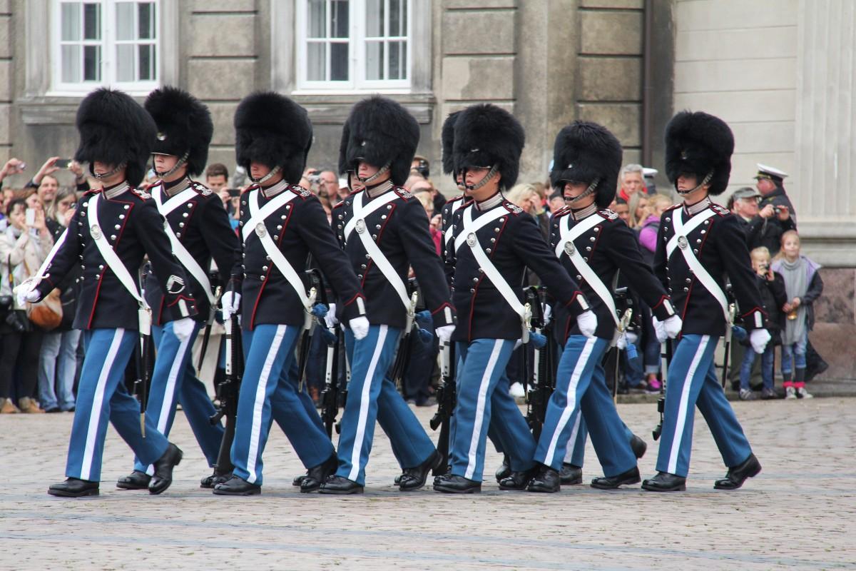 Marching Guards Copenhagen