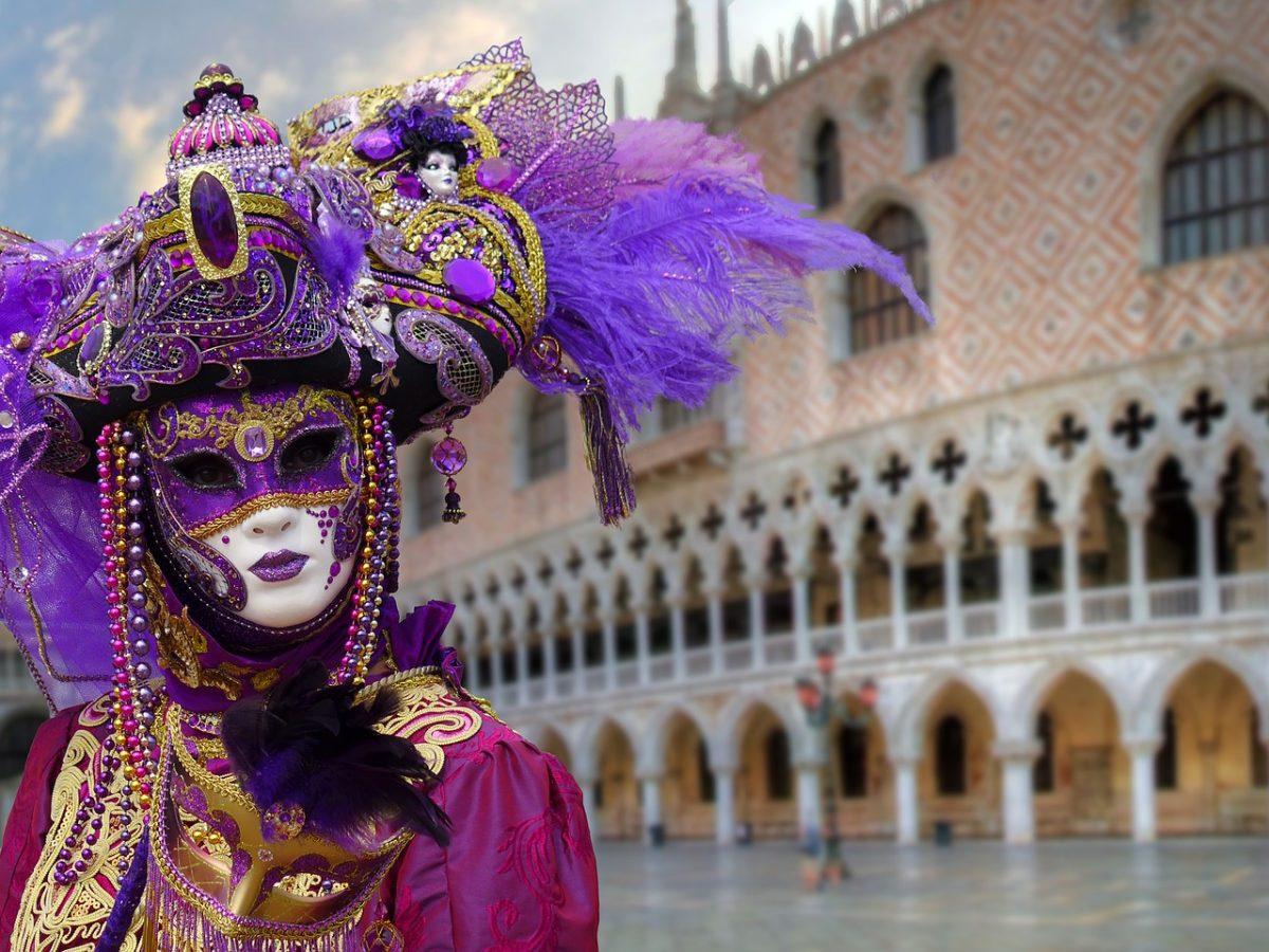 Venetian Mask, St. Mark's Basilica, Venice, Italy