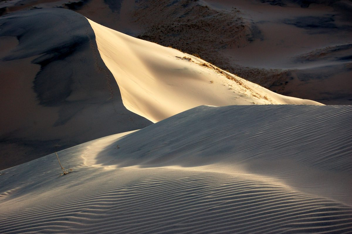 Exploring Kelso Dunes at Mojave National Preserve