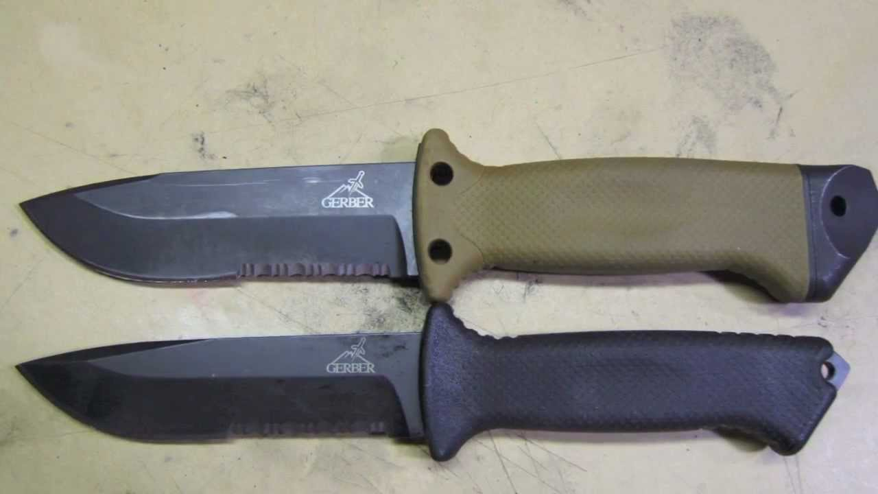 A Gerber Prodigy survival knife