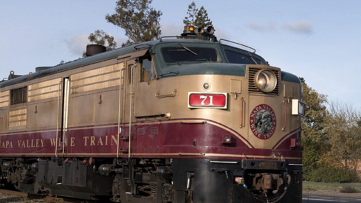 Napa Valley wine train