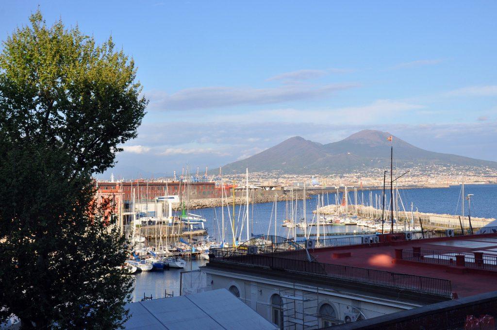Boats Docked in Naples Harbor