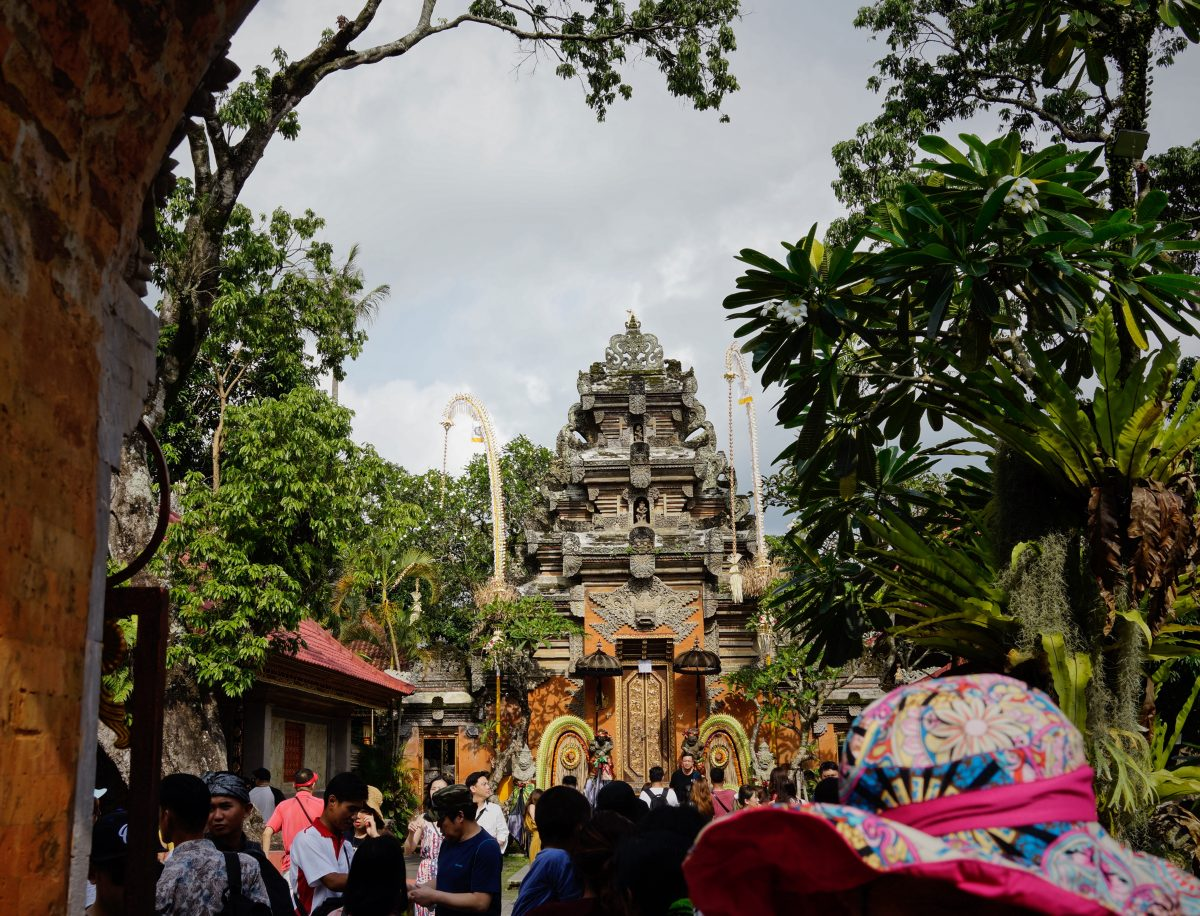 Traditional celebration in Ubud palace, Puri Saren Agung