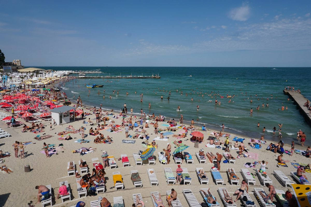 Things To Do In Odessa, Arkadia Beach