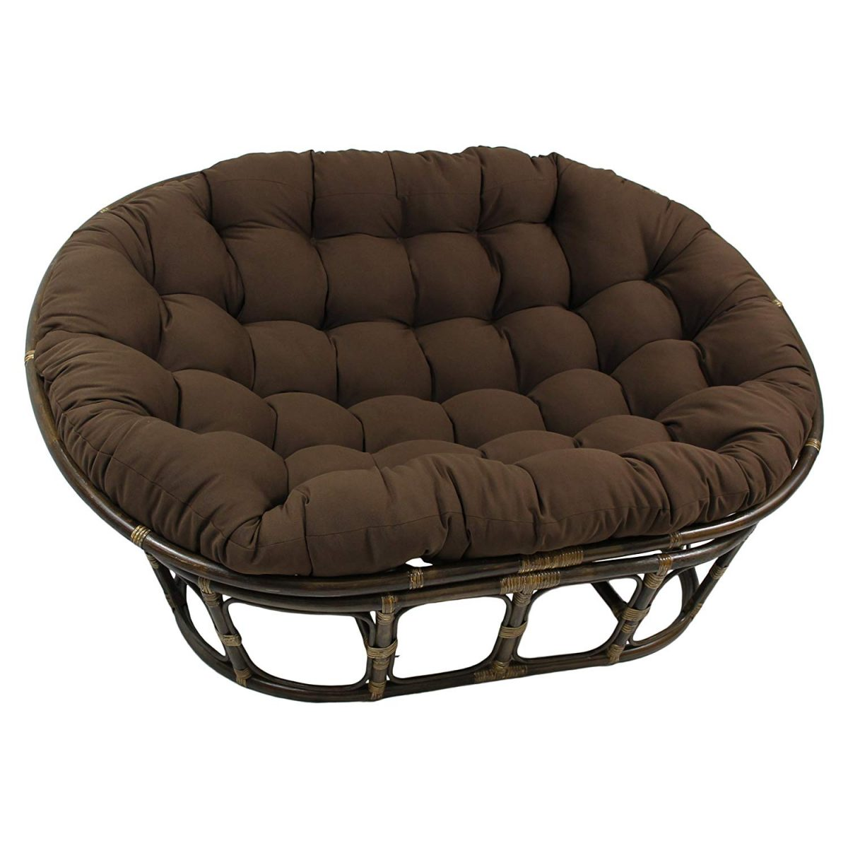 Blazing Needles Double Papasan Chair