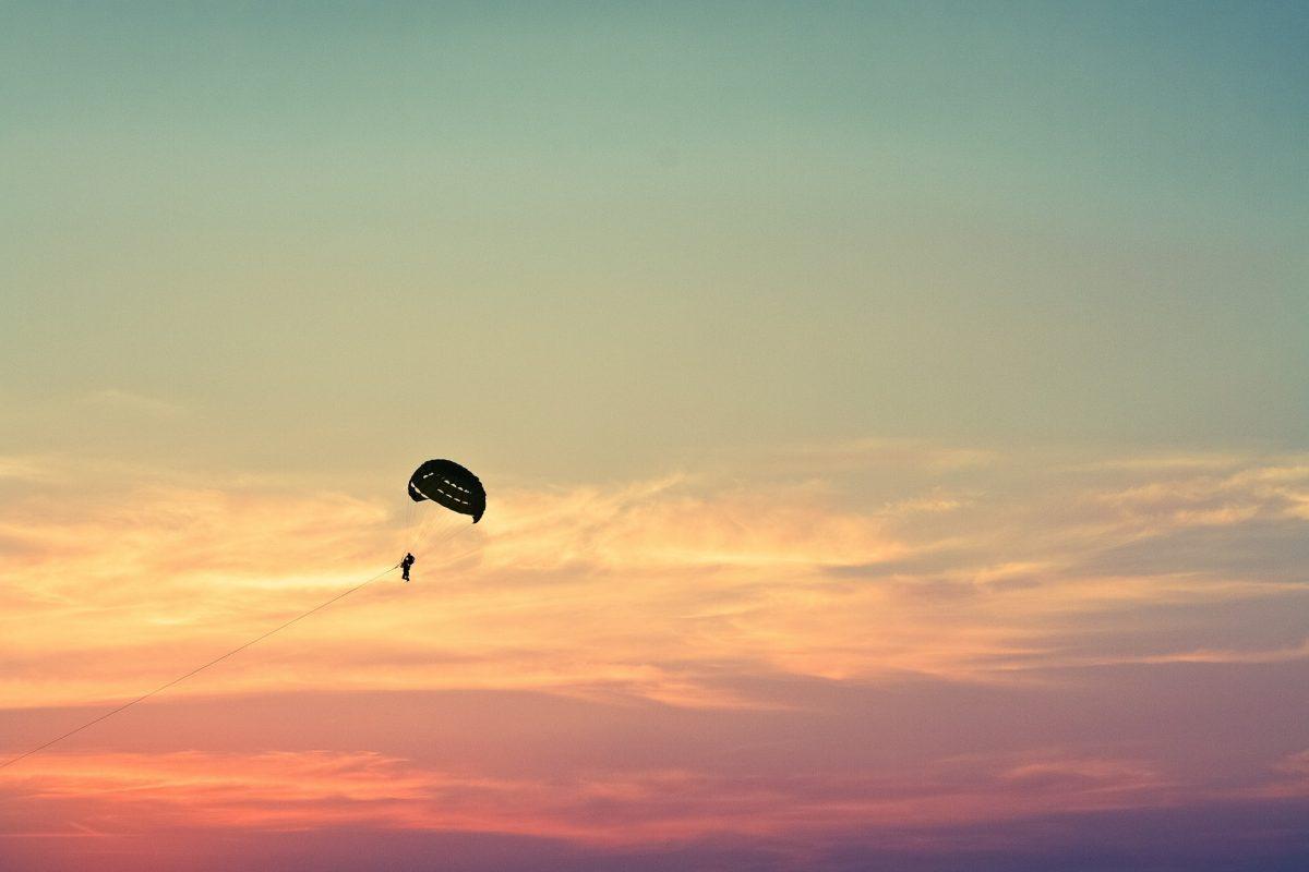 parasailing, Bethany Beach