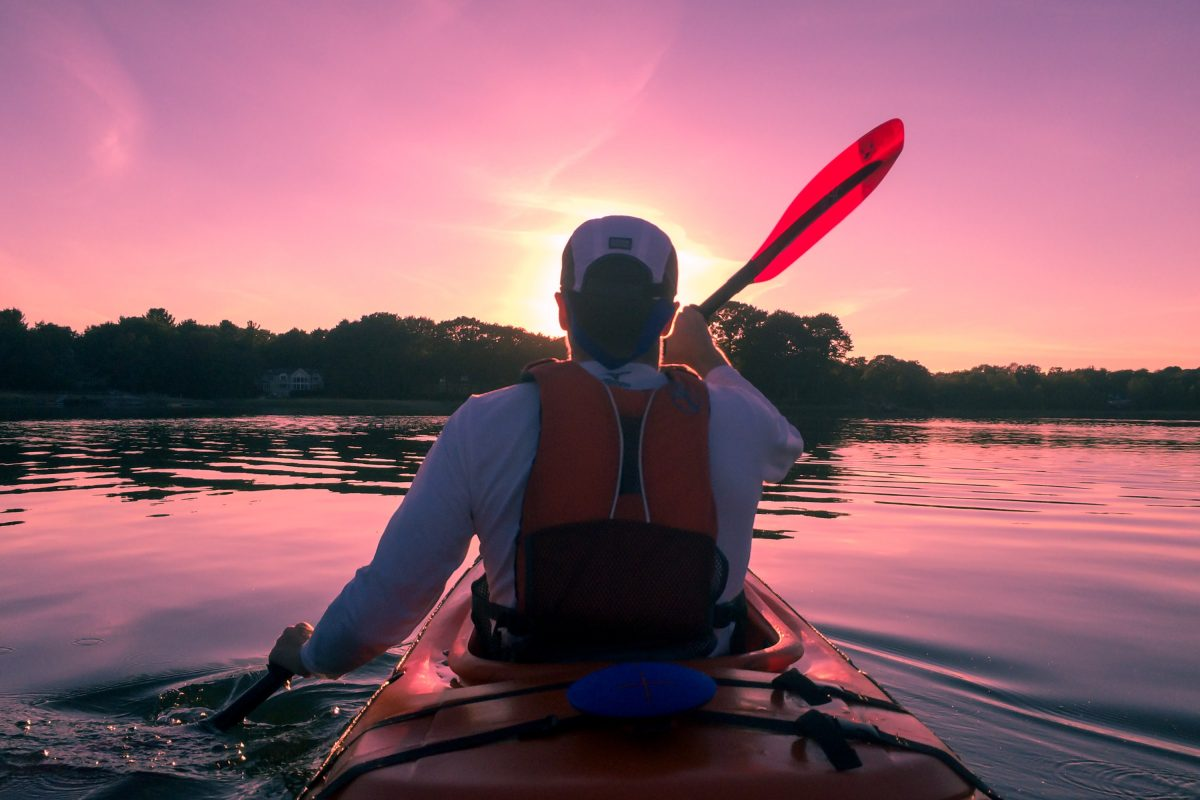 Kayaking at Thousand Islands