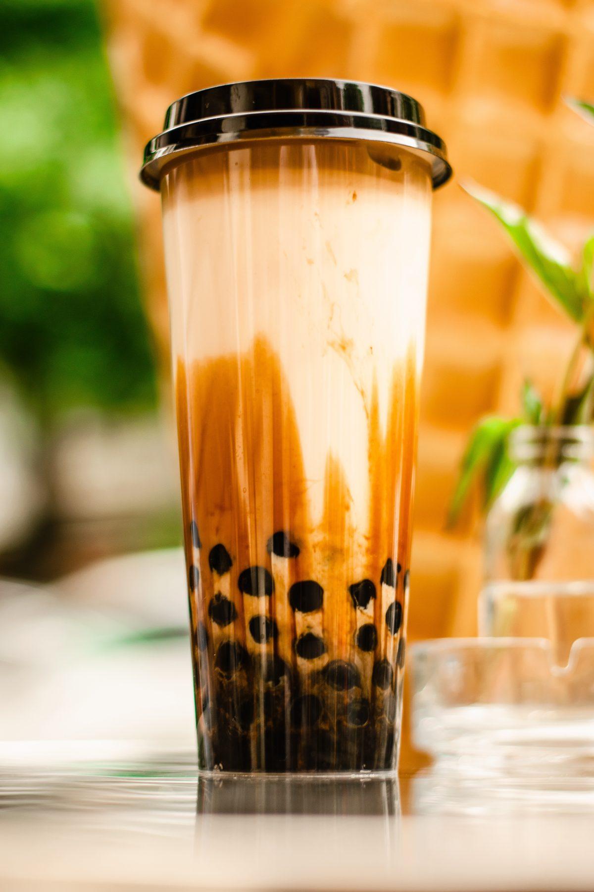 Brown Sugar Milk Tea, Bubble Tea, Taiwan