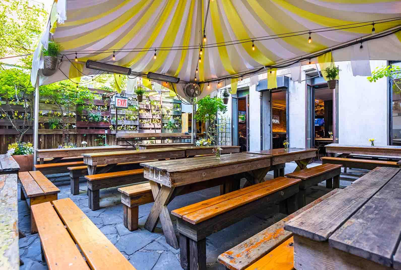 Loreley Beer Garden NYC