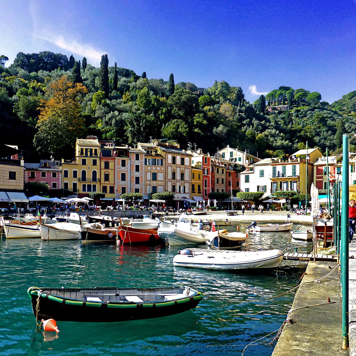 Riveria in Portofino, Genoa, Italy