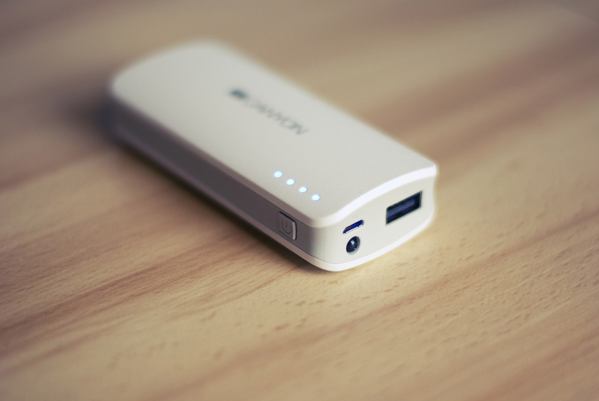 Portable battery charger or power bank