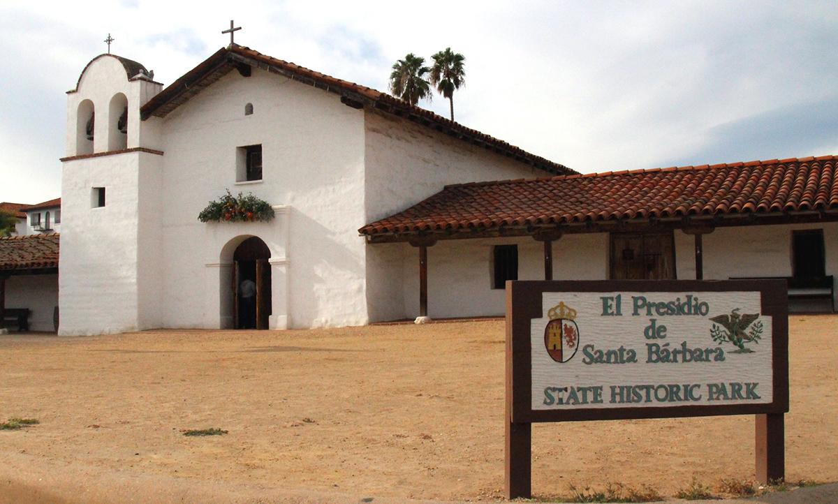 El Presidio de Santa Barbara State Historic Site, Santa Barbara, California, USA