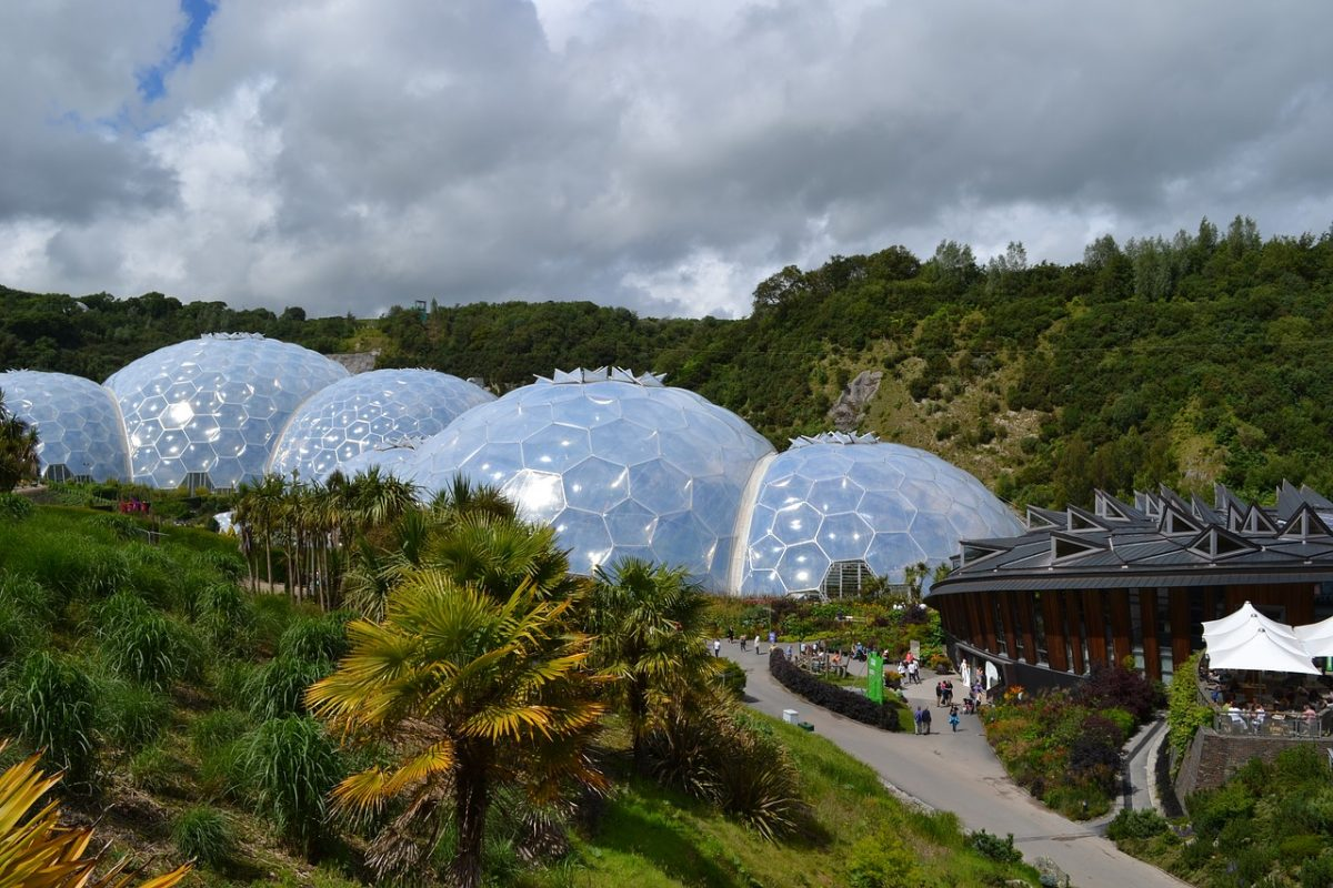 Eden project - things to do in Cornwall