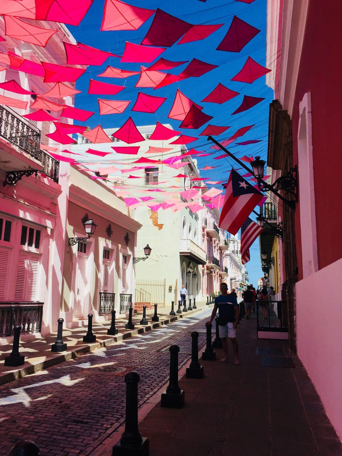 A street in San Juan
