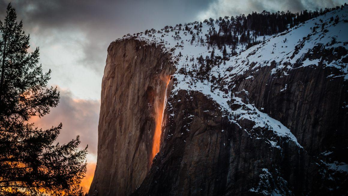 Yosemite, Firefalls