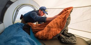 Liners for sleeping bags