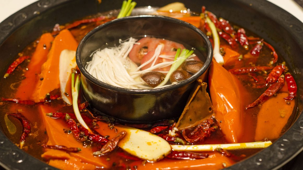 spicy flavored hot pot 1160x653 - What Is A Chinese Hot Pot And Why You Must Try It?