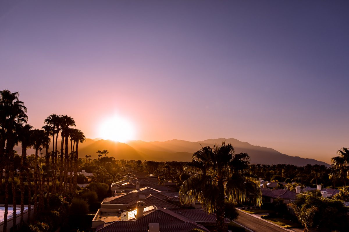Weather in Palm Springs, California