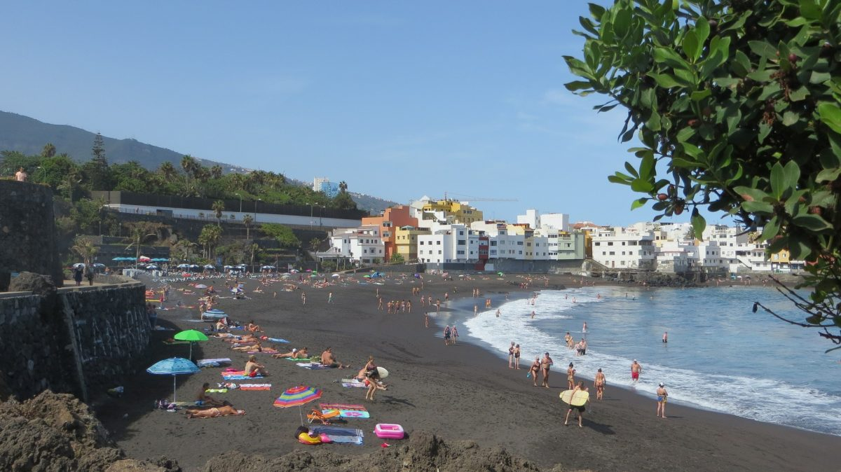 Playa Jardín, Puerto de la Cruz, Canary Islands, Lovina Beach, Bali, Black Sand Beach