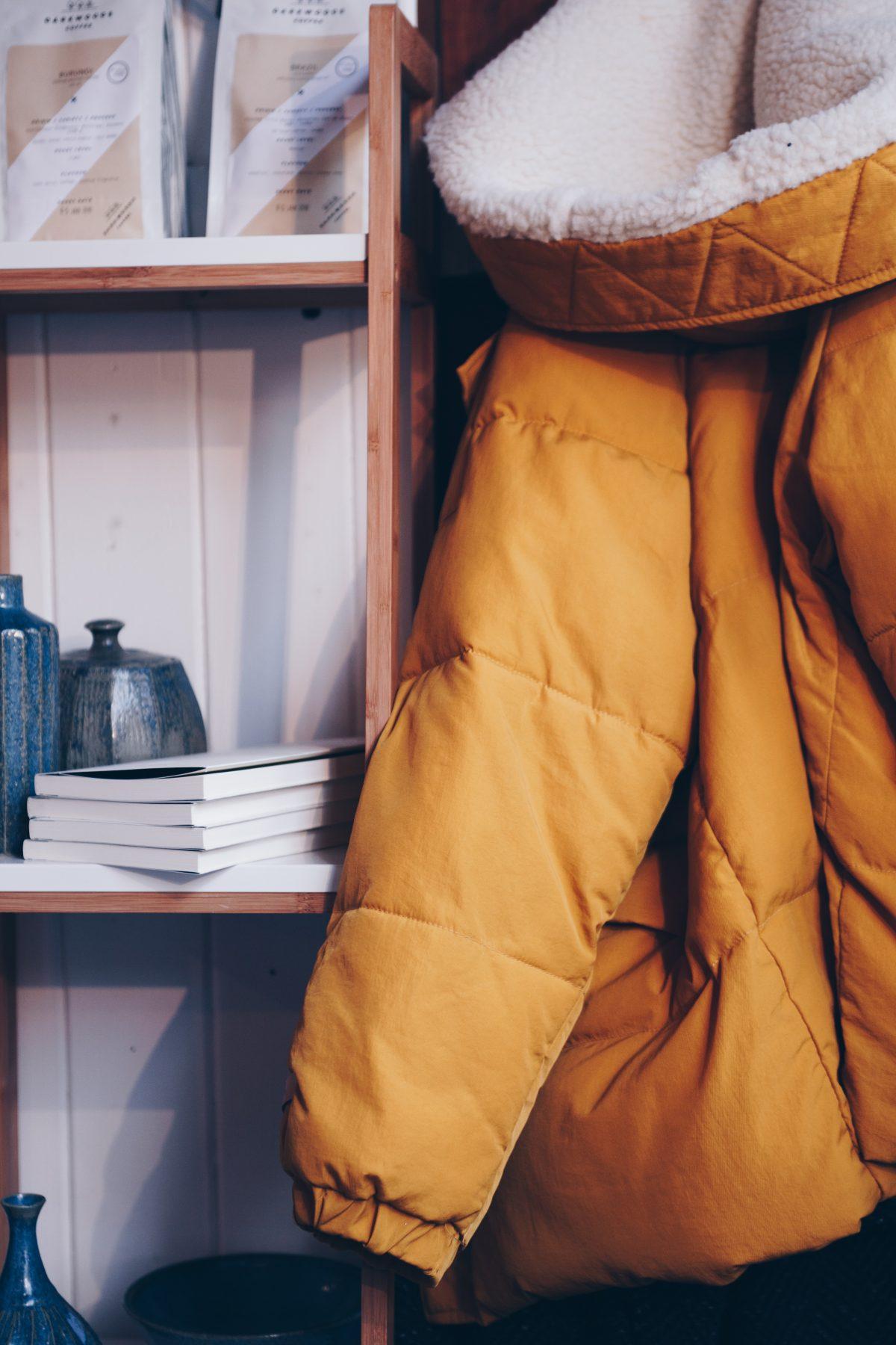 Warm Fleece or Down Jacket