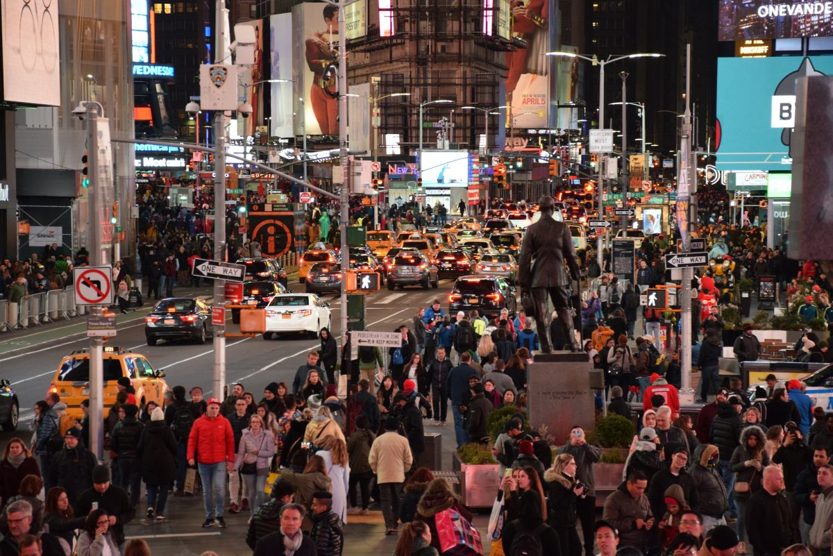 Times Square, Manhattan, Crowd