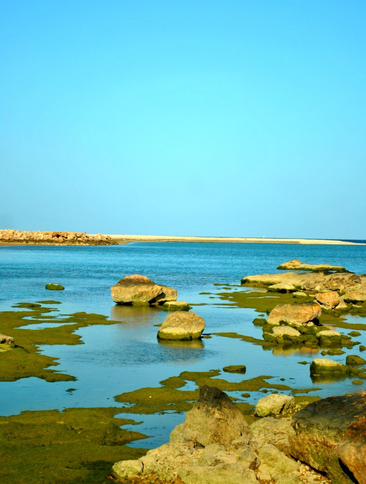 A view from Tiwi Beach, Oman