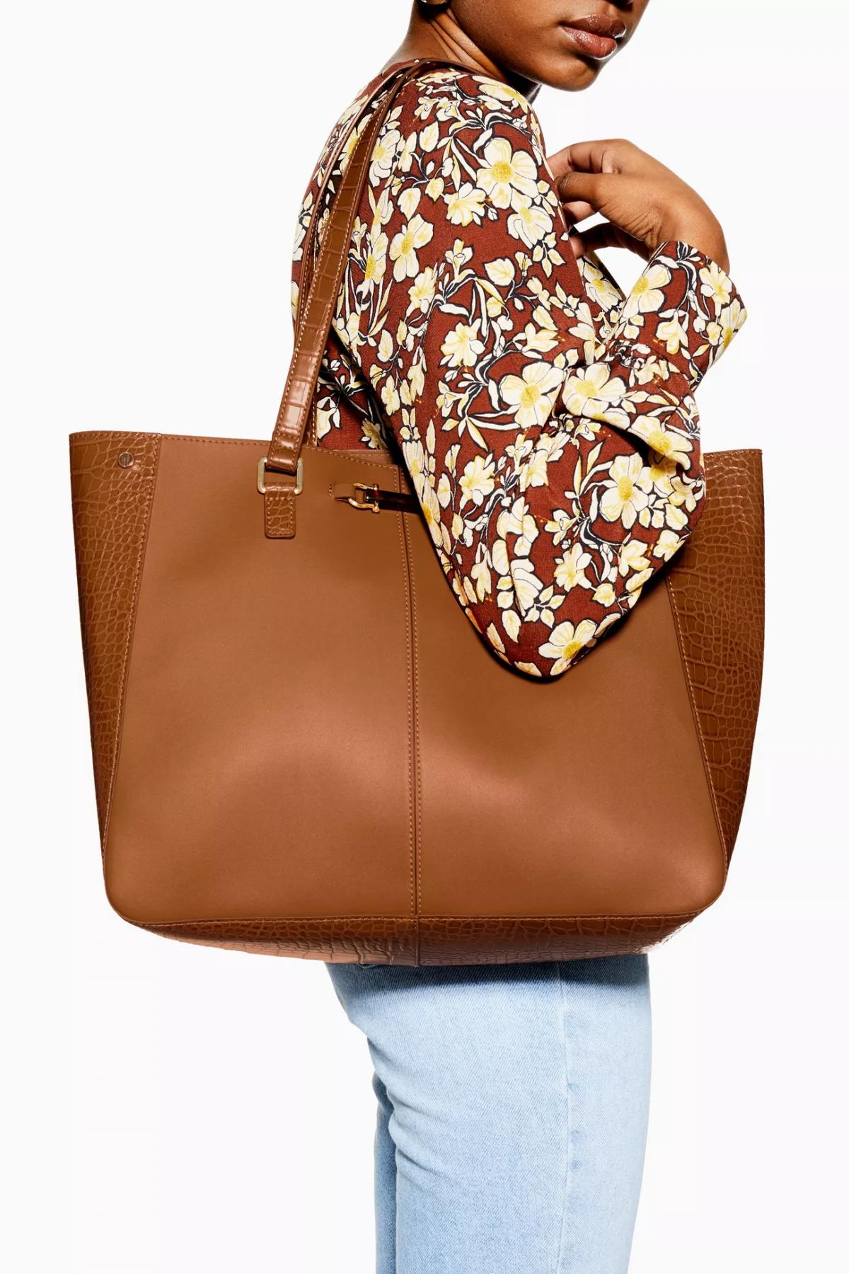 Topshop Mace Tote Bag, Vegan Leather Bags