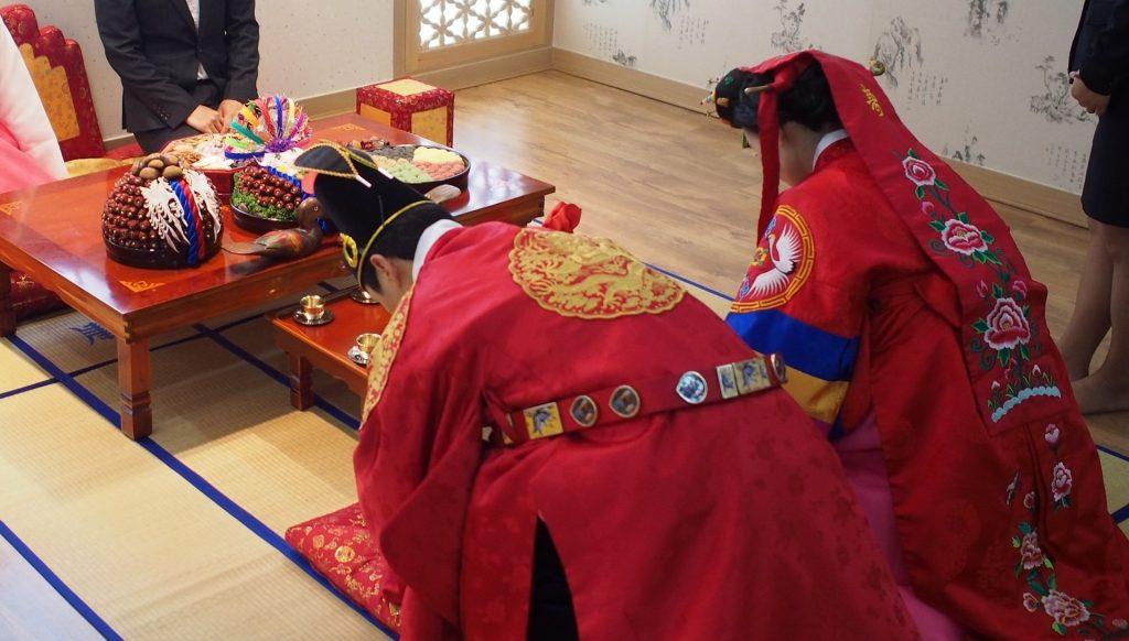 Marriages, Korea, hanbok