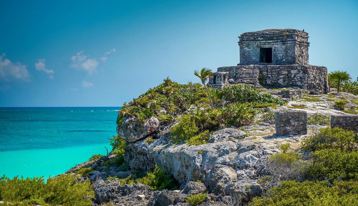 Mayan Ruins, Cancun, Mexico, Tulum Ruins