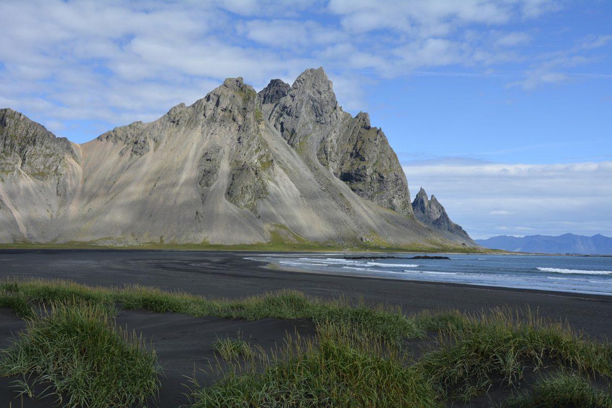 Stokksnes Beach, Iceland, Black Sand Beach