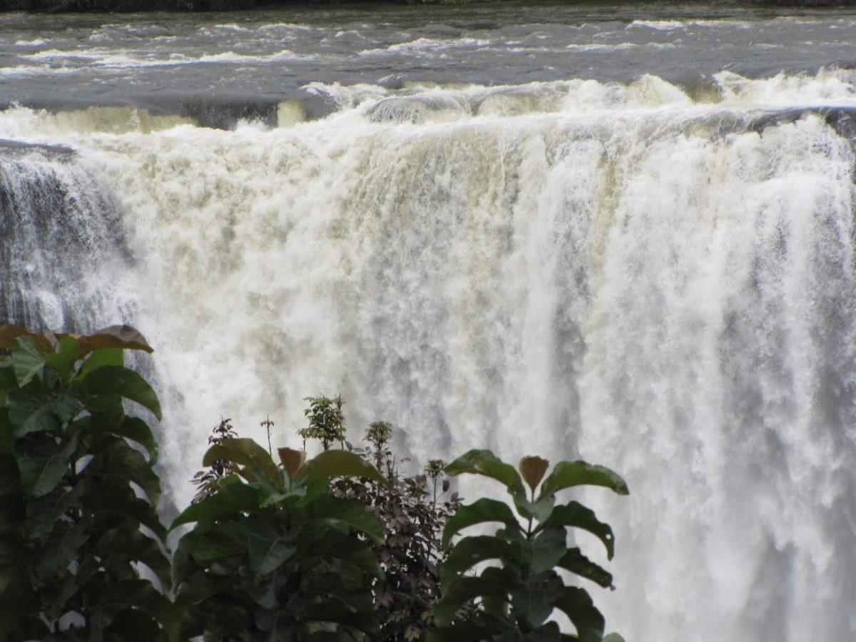 water falls during monsoon