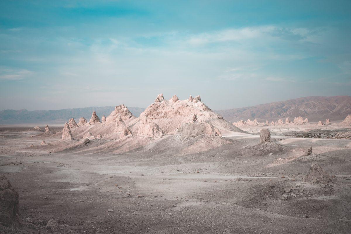 Trona Pinnacles in Mojave