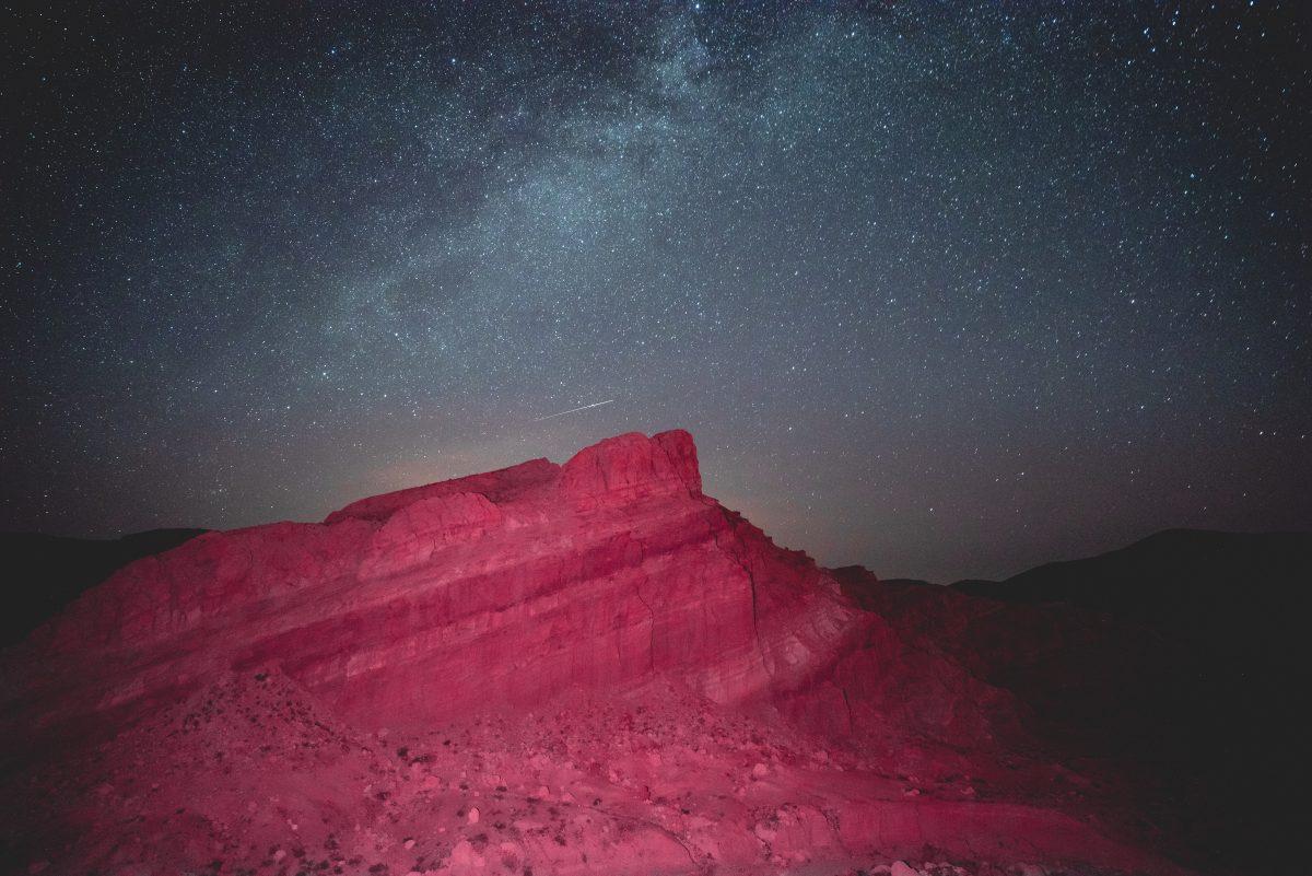 Stargazing at Mojave Natural Preserve