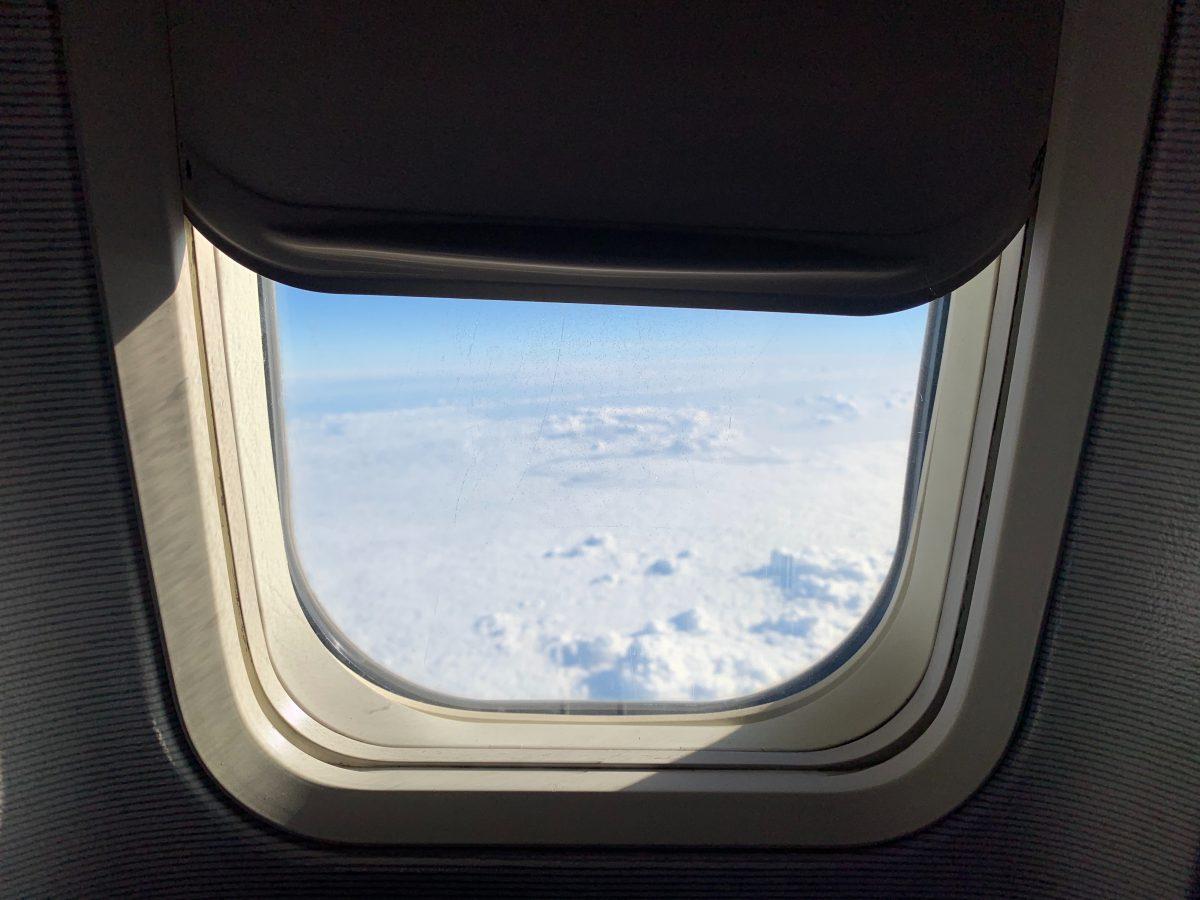 Window Shade on an Airplane