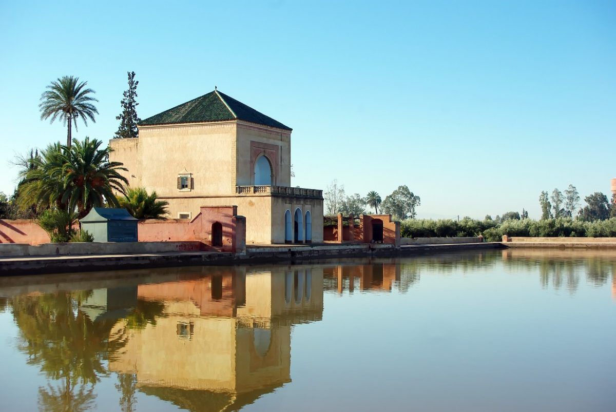 A house near a lake