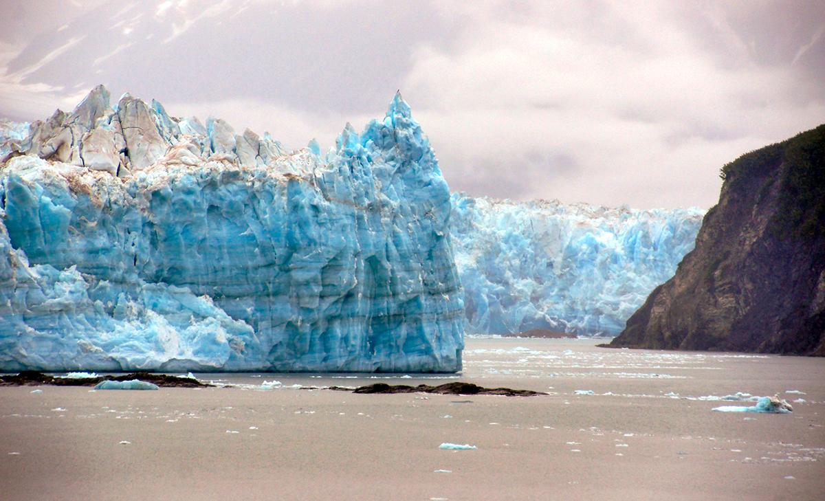 The Hubbard Glacier, North America, Natural Wonders