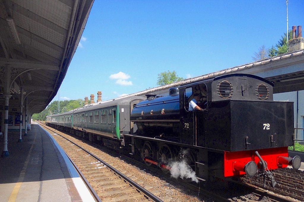 train, kent
