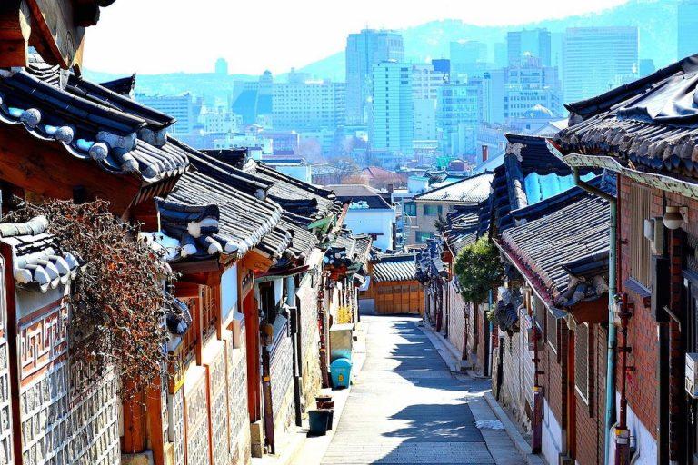 Hanok Village, Jeonju, South Korea