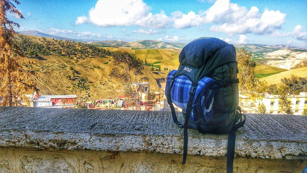Backpacking in Fez Mountains, Morocco