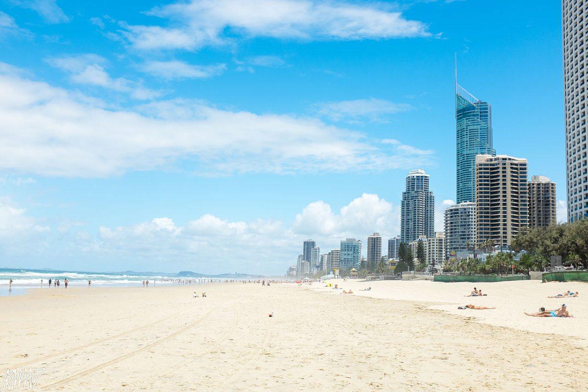 surfers paradise, beach, australia beaches