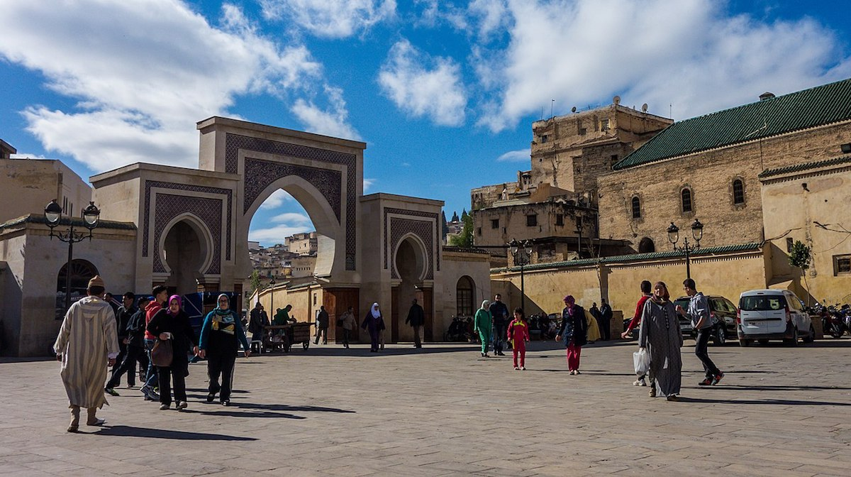 Locals and Tourists in Morocco