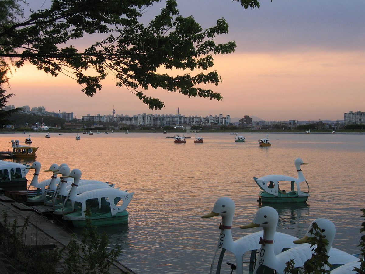 Suseong Lake, Daegu, South Korea